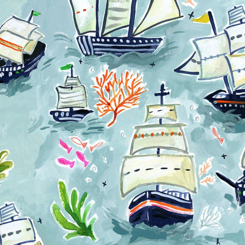 Dear Stella High Seas - Digital by August Wren ST DAW 1363 Ships $11.30/yd
