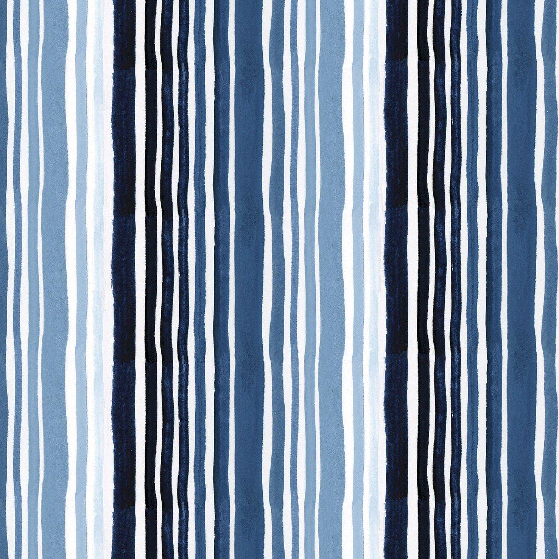 Dear Stella High Seas - Digital by August Wren ST DAW 1365 Marine Stripe $11.30/yd