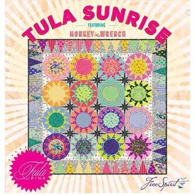 Free Spirit Monkey Wrench by Tula Pink SUNRISE QUILT KIT $189.00/165.00 each