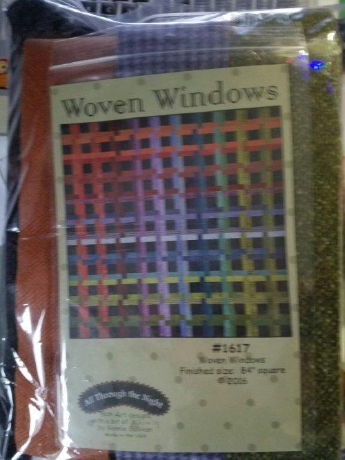 Maywood Woolies WOVEN WINDOWS KIT & PATTERN $135.00/$105 KIT