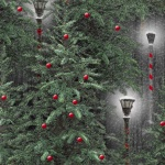 Holiday Wishes Lanterns - Green