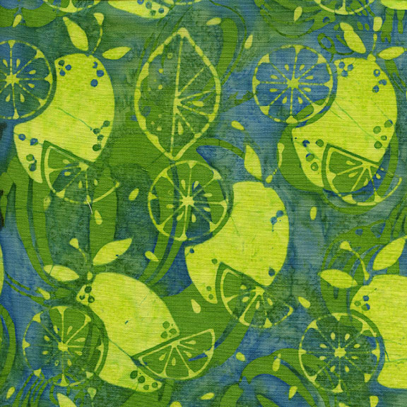 Rise & Shine Batiks Lemons