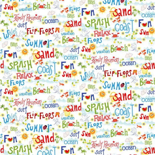 Celebrate Summer Words Mult