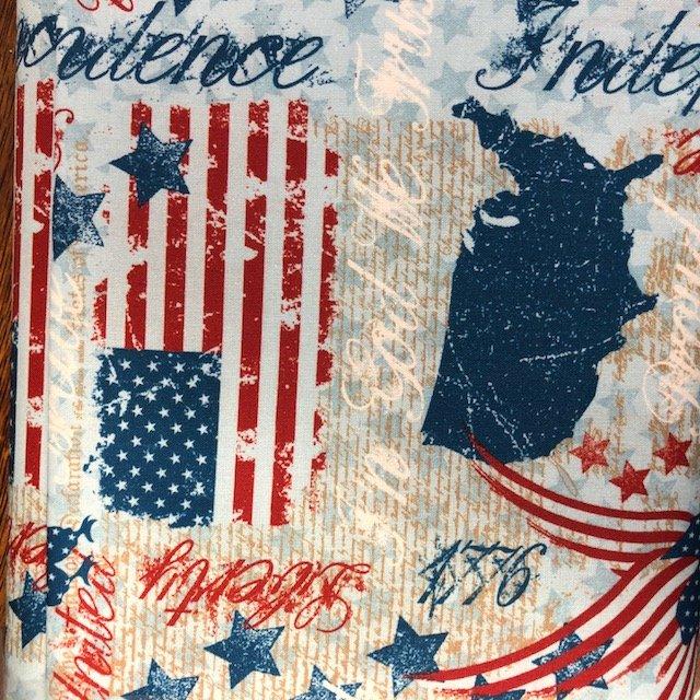 Stars of Valor - USA print