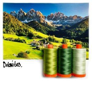 Aurifil Color Builder - Dolomites