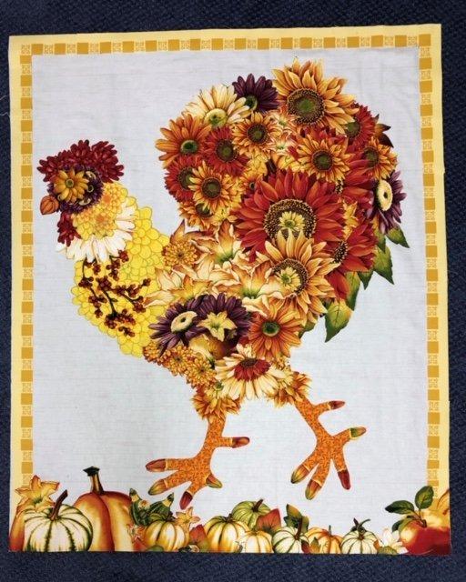 Doodle Doo Fall Fabric Kit