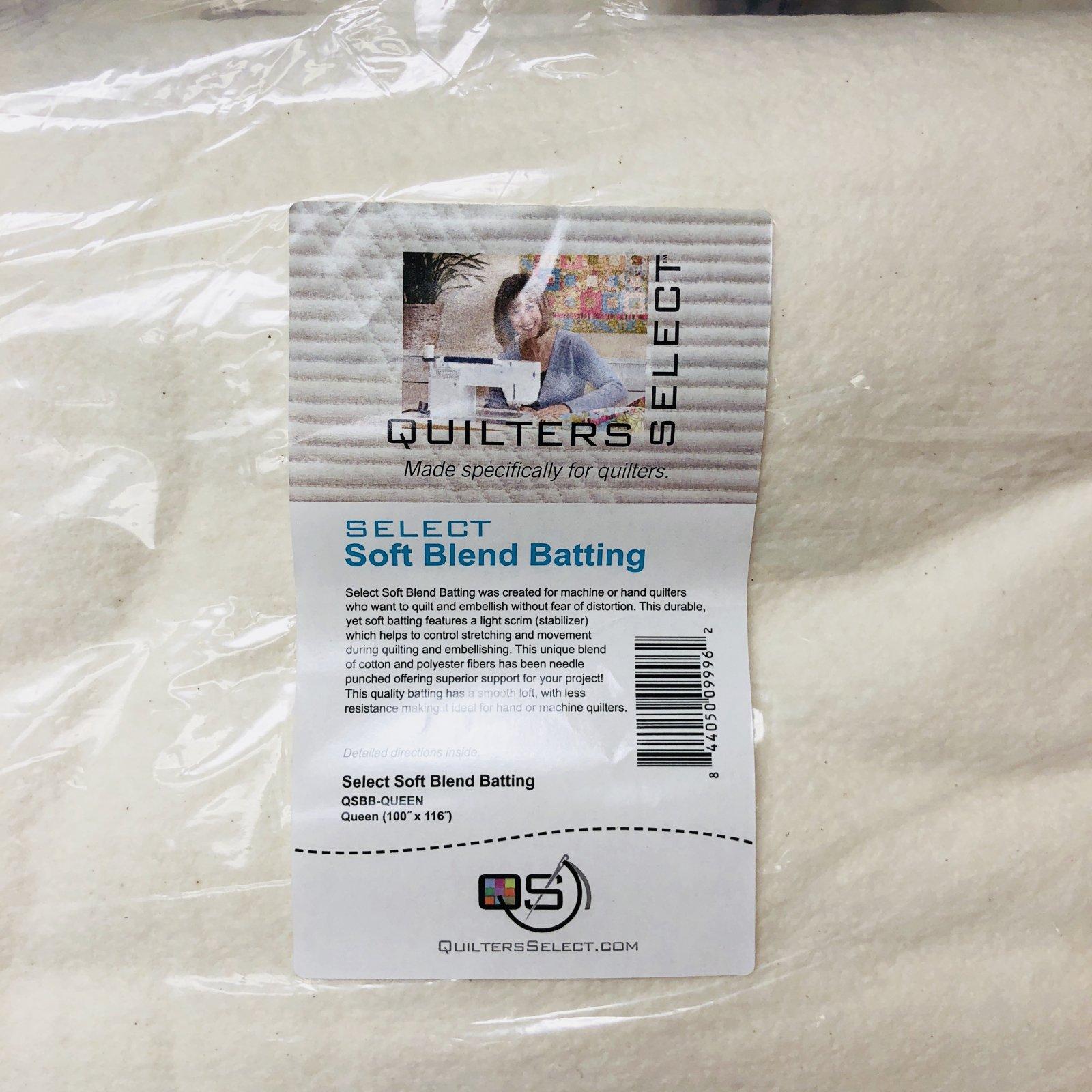 Select Soft Blend Batting