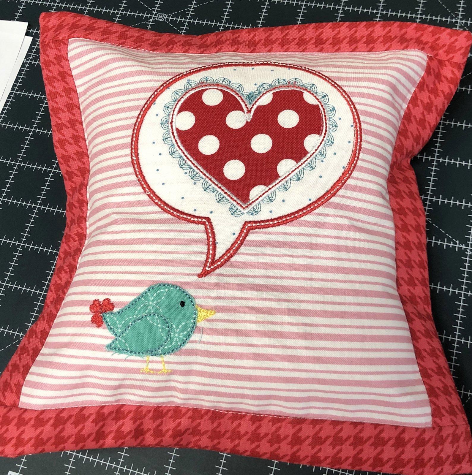 A Little Birdie Told Me Pillow Kit