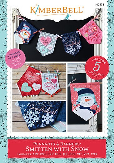 KB Pennants and Banners: Smiten with Snow