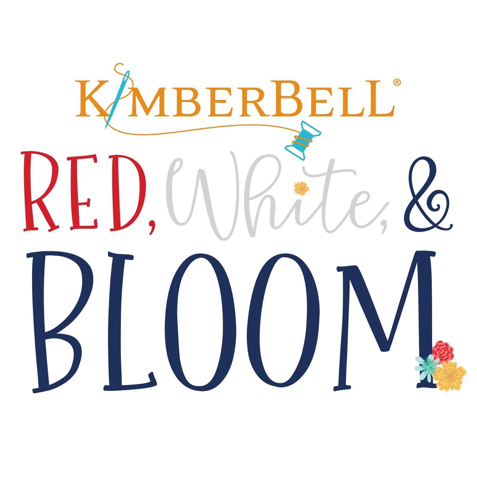 Red, White, & Bloom Embellishment Kit