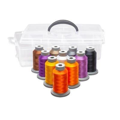 Twilight Boo-levard Machine Embroidery Thread Kit
