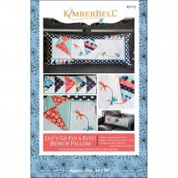 KimberBell Let's Go Fly A Kite! Bench Pillow Pattern