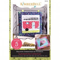 Kimberbell Machine Embroider by Number: Summertime Collection
