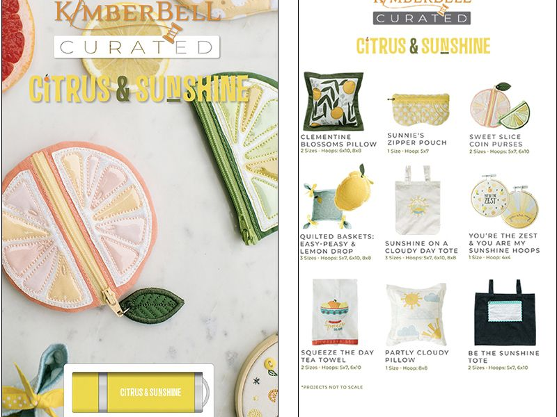 Kimberbell Curated - Citrus & Sunshine