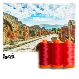 Aurifil Color Builder - Pompeii