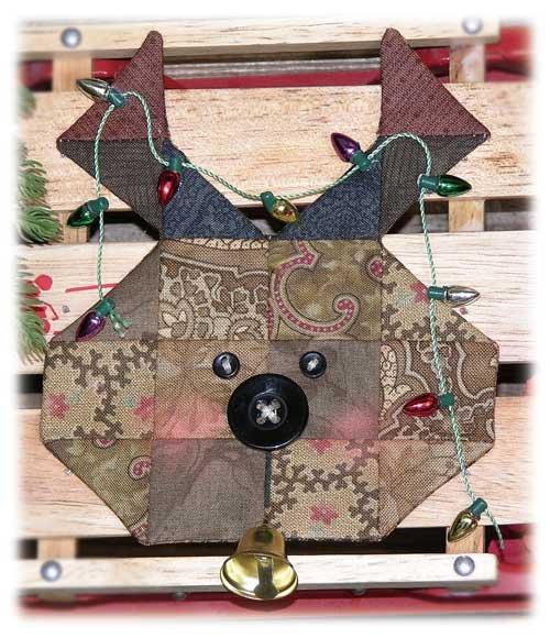 Espresso Fabric Kit - Reindeer