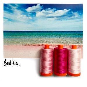 Aurifil Color Builder - Sardinia