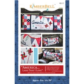 KimberBell America Bench Pillow Pattern