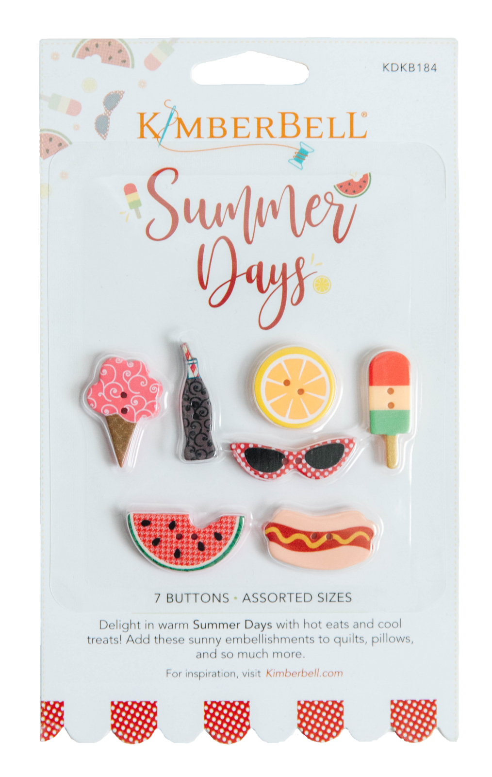 Summer Days Buttons