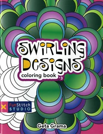20220 Coloring Book Fun Stitch Studio Swirling