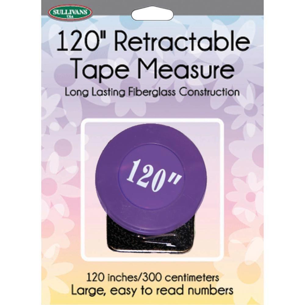 372TM 37268 Retractable Tape Measure 120 Purple