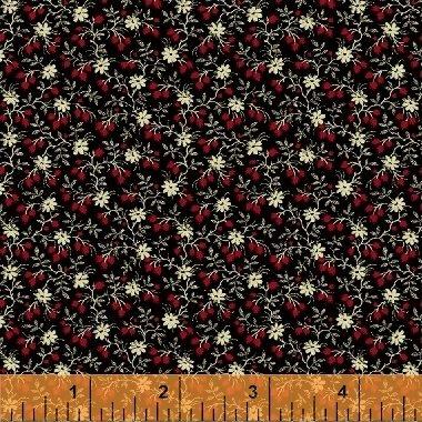 Wisdom 50177-1 Black Mini Floral