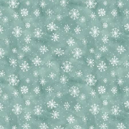 96425-414 Teal Snowflake