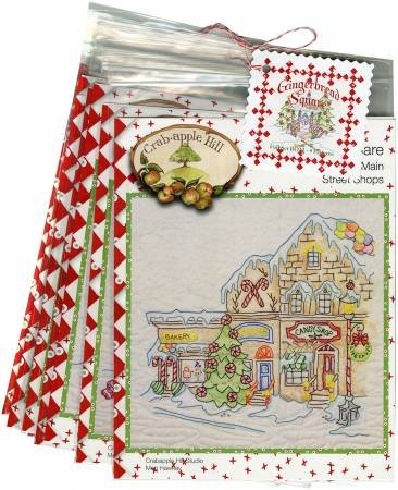 Gingerbread Square Block of the month  Complete Set CAH2521