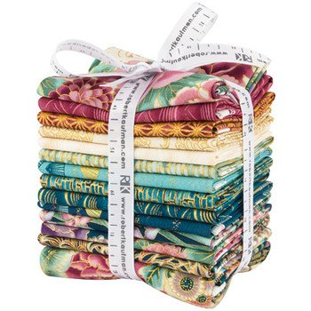 FQ-1360-14 Fat Quarter Bundle Imperial Collection Garden