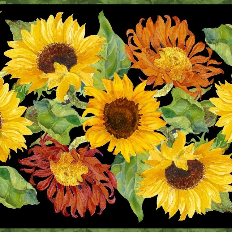 FLOWERS OF THE SUN 79258-957 panel