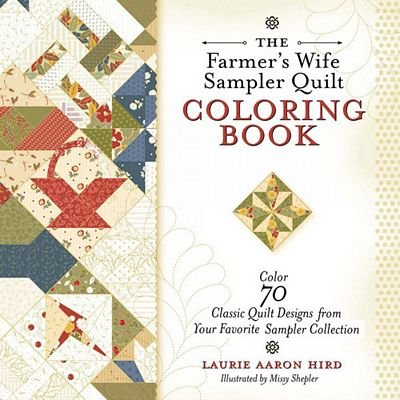 FWS6715 The Farmer's Wife Sampler Quilt Coloring Book
