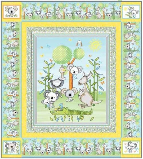 Koala Party Quilt Kit
