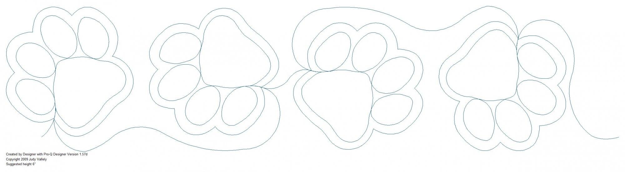 Design-Paw Prints