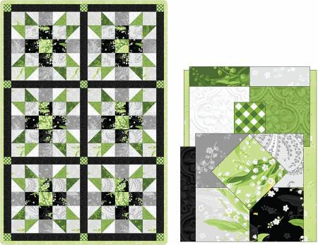 POD-05-GRE Sister's Choice Quilt Pod