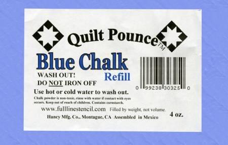 Q7R Stencil Chalk Refill for Quilt Pounce Pad Blue