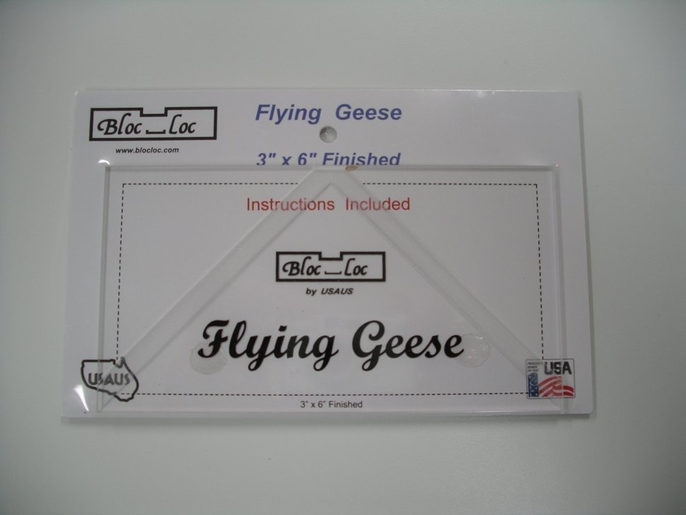 Bloc-Loc Flying Geese Ruler 3 x 6