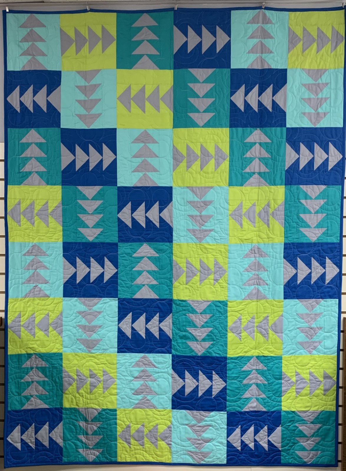 Any Which Way Quilt Kit (54x72)