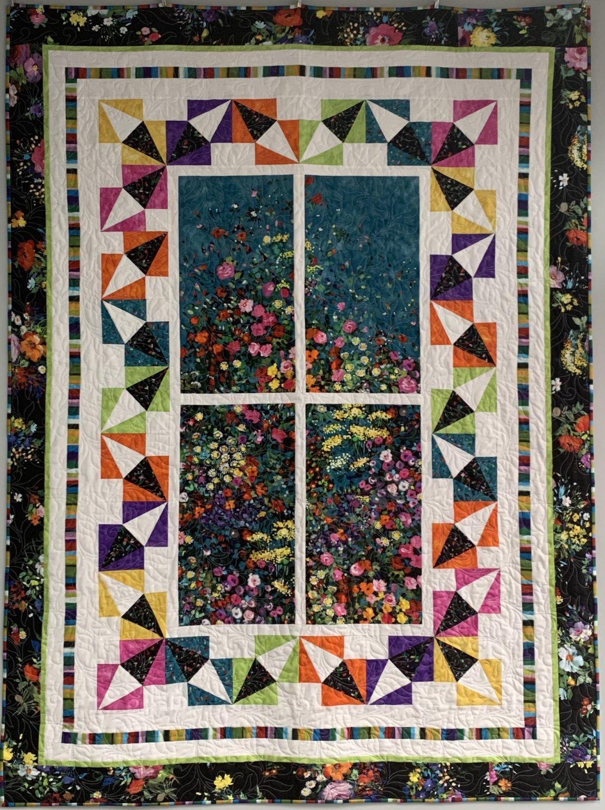 Garden View Quilt (53 x 71)