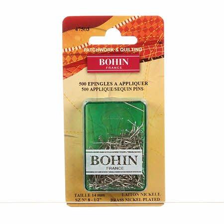 Bohin Applique pins 500 ct