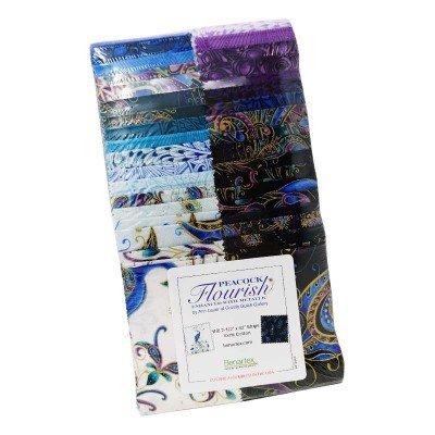 Peacock Flourish Strip Pack