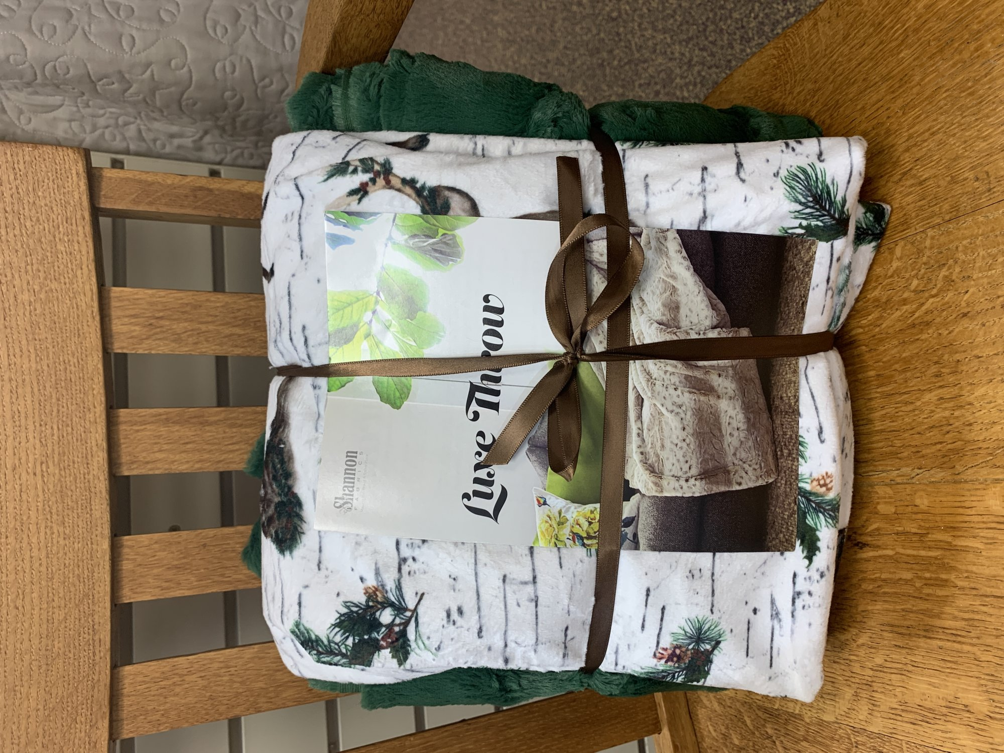 Luxe Throw Kit - Winter Deer