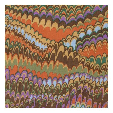K Fassett End Papers Brown