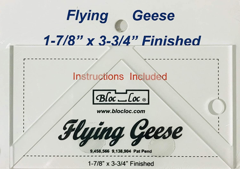 Bloc-Loc Flying Geese 1 - 7/8 x 3 - 3/4