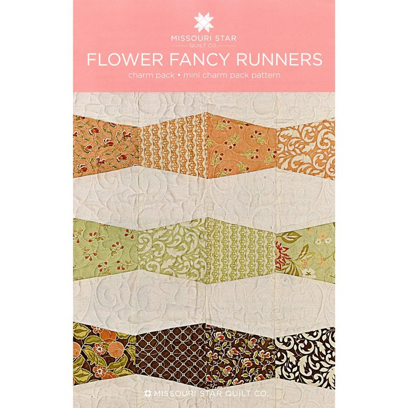MSQC Flower Fancy Runners Pattern