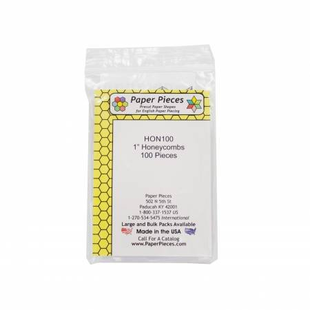 Paper Piece Honeycomb Pack 1in 100pc