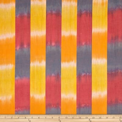 K Fassett Ikat Stripe Yellow