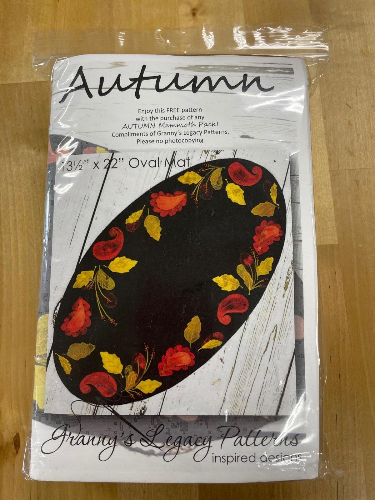 Autumn B Kit w Mammoth Pack