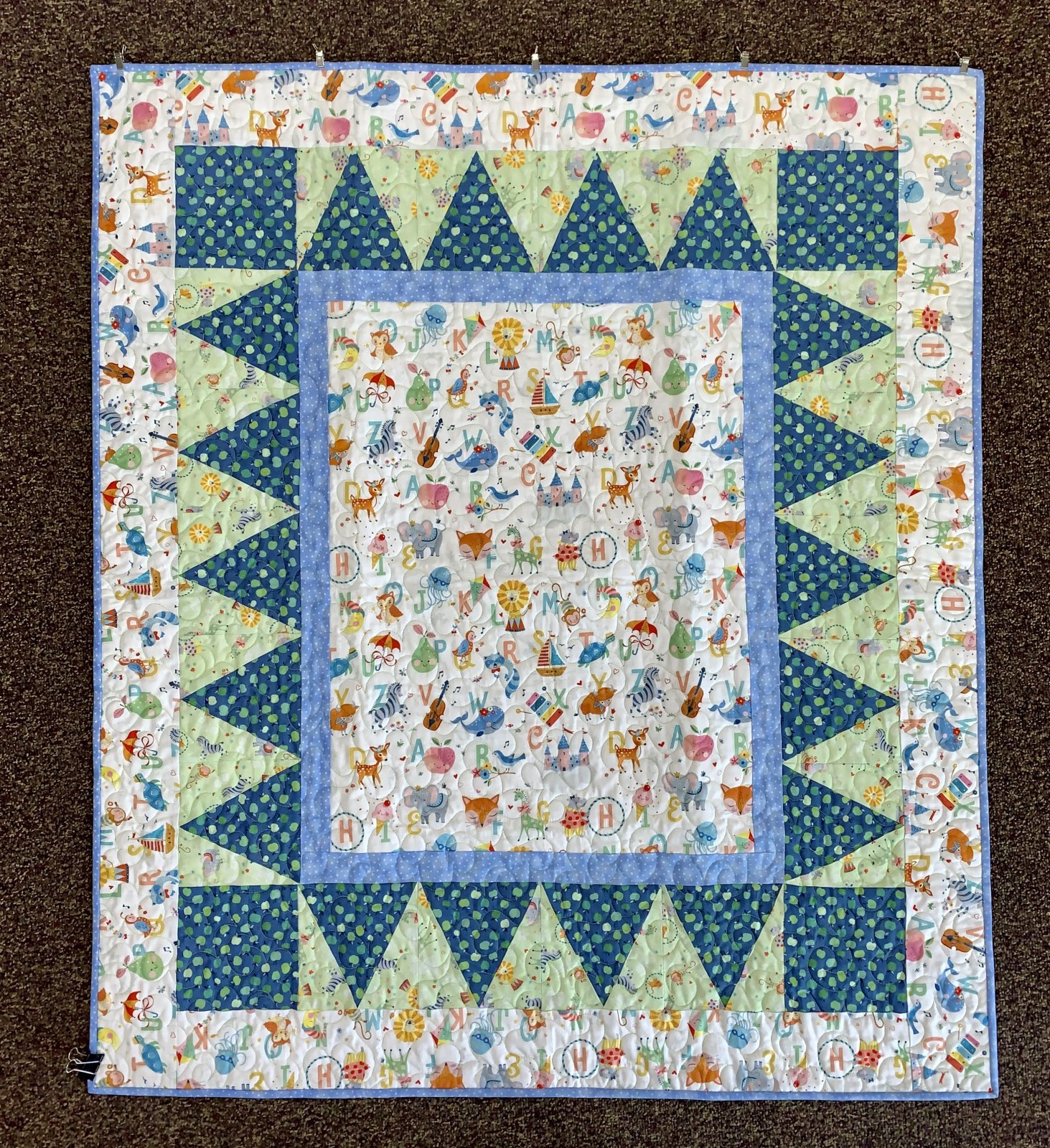 Under The Big Top Quilt Kit - 45x 51