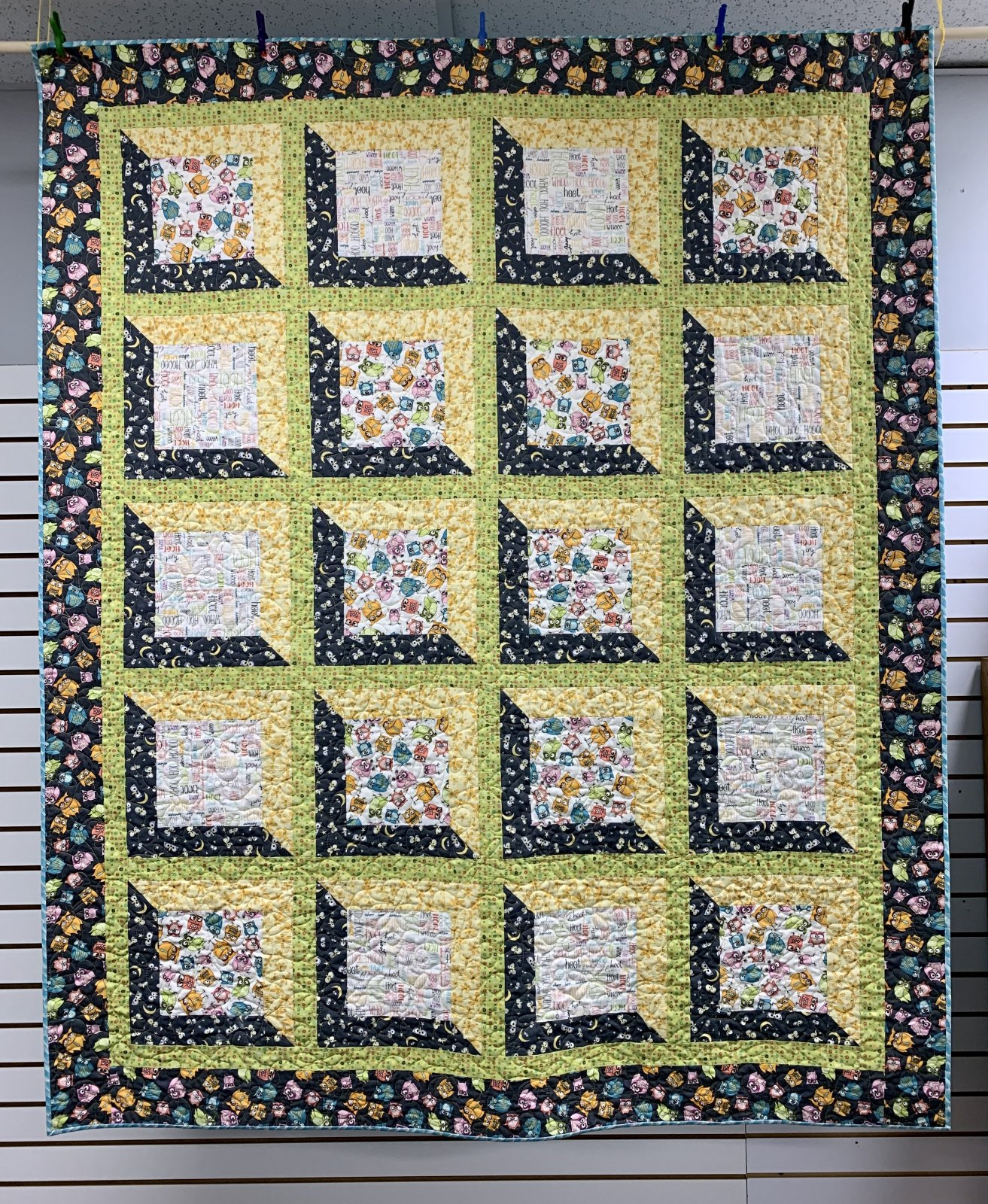 Viewed Quilt Kit 58 x 71