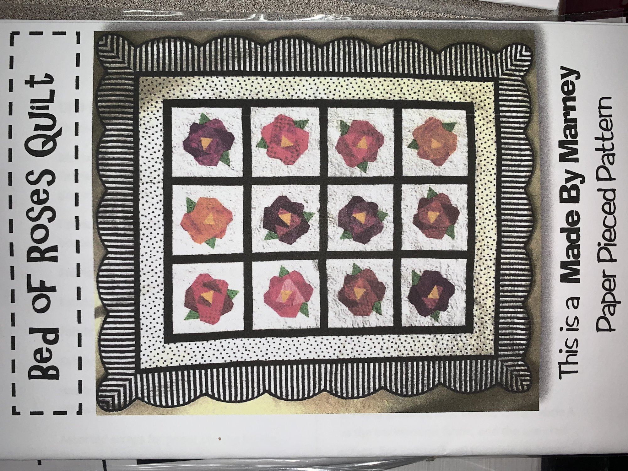 Bed of Roses Quilt